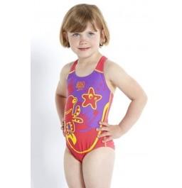 Speedo Seasquad  Swimsuit - Pink/Purple