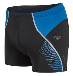 Speedo Fit Panel Aquashort - Black/Blue