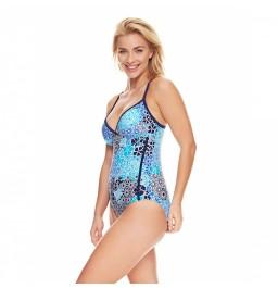 Zoggs Zen Resort Strappy Crossback Swimsuit