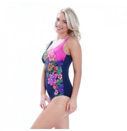 c1d4eb7e885 Zoggs Tropical Garden Squareback Swimsuit