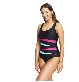 Zoggs Hybrid Tropics Adjustable Scoopback Swimsuit