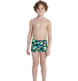 Speedo Infant Boys' Essential Allover Print Aquashort Navy/Green