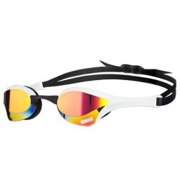 Arena Cobra Ultra Mirror Racing Goggles - Red / White / Black