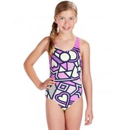 Speedo Solar Tribe Allover Splashback Swimsuit
