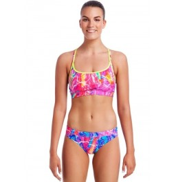 Funkita Womens Kaleidocolour Ladies Sports two piece