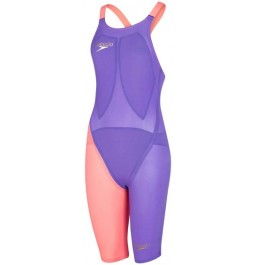 Speedo Fastskin LZR Racer Elite 2 Openback Kneeskin Purple/Red