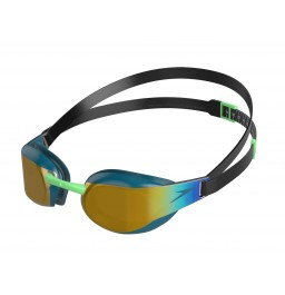 Speedo Fastskin Elite Mirror Goggle Green/Gold