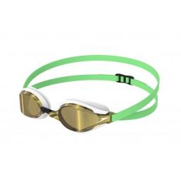 Speedo Fastskin Speedsocket 2 Mirror Goggle Green/Gold