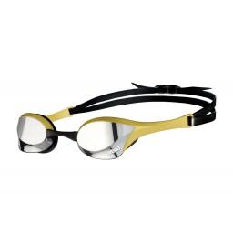 Arena Cobra Ultra Swipe Mirror Goggles Silver/Gold