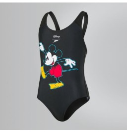 Speedo Girls Disney Mickey Mouse Swimsuit