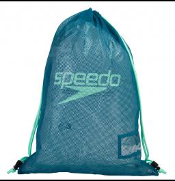 Speedo Mesh Equipment Bag - Blue/Green