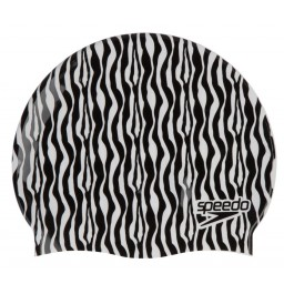 Speedo Slogan Print Cap - Black/White