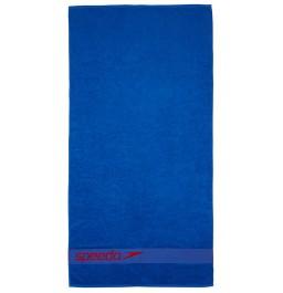 Speedo Border Towel Blue/Red
