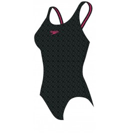 Speedo Monogram Allover Muscleback
