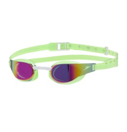 Speedo Fastskin Elite Mirror junior goggles Green/Red