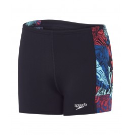 Speedo Astro Ignite Panel Aquashorts - Black/Green