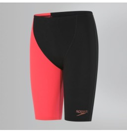 Speedo Fastskin Endurance+ High Waisted Jammer- Black/Red