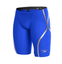 Speedo  Men's Fastskin LZR Racer X High Waist Jammer Blue/Gold