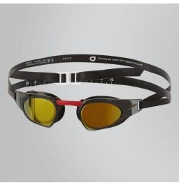 Speedo Fastskin Prime Mirror Goggle Red/Black