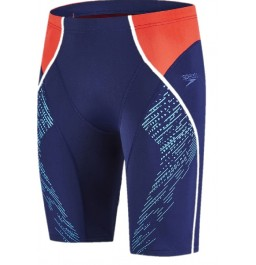 Speedo Fit Panel Jammer - Navy/Red