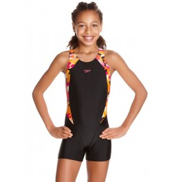 Speedo Comet Pop Printed Legsuit