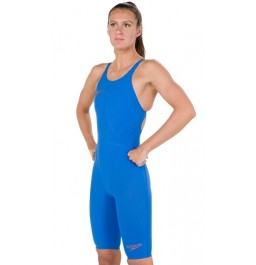 Speedo LZR Racer Element Openback Kneeskin - Blue