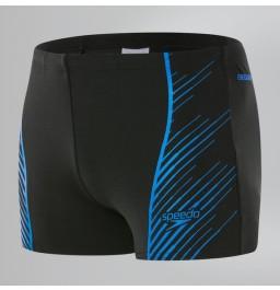 Speedo Sport Panel Aquashort - Black/Blue