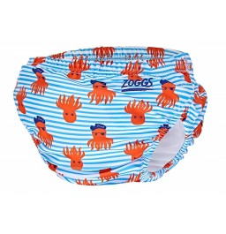 Zoggs Deep Sea Adjustable Swim Nappy 3-24 months