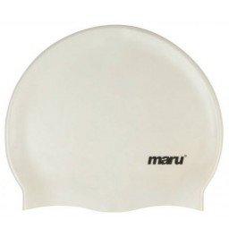 Maru Silicone Swim Hat White