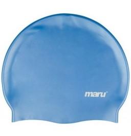 Maru Silicone Swim Hat Blue