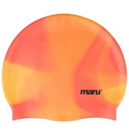 Maru Silicone Swim Hat Orange