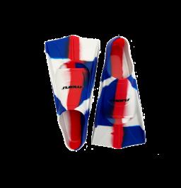 Maru Training Fins Neon Red/White/Blue