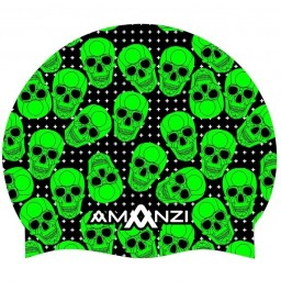 Amanzi Bone Yard Swim Cap