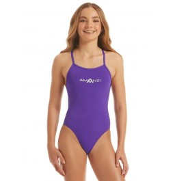 Amanzi Girls Jewel Tie Back One Piece
