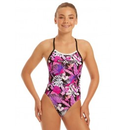 Amanzi Girls Paradise Cove Tie Back One Piece