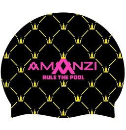Amanzi Rule The Pool Swim Cap