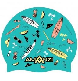 Amanzi Surfs Up Swim Cap
