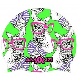 Amanzi Zany Zebra Swim Cap