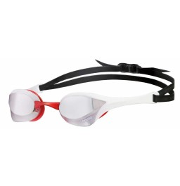 Arena Cobra Ultra Mirror Racing Goggles Silver / Red / White