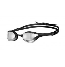 Arena Cobra Ultra Mirror Racing Goggles Silver/Black/Black