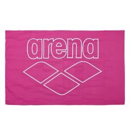 Arena Pool Smart Microfibre Towel - Rose/White