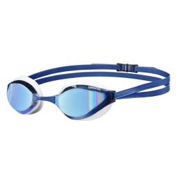 Arena Python Mirror Goggle - Blue/White