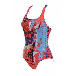 Arena Red Swimsuit - Speckle
