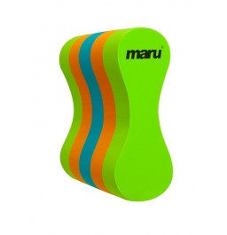 Maru PullBuoy Lime/Orange/Turquoise