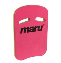 Maru Two Grip Fitness Kickboard Pink/Lime