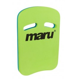 Maru Two Grip Fitness Kickboard Lime/Blue