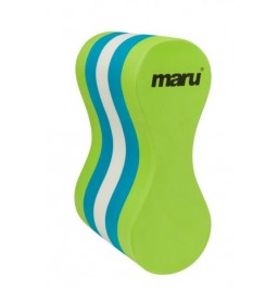 Maru Pull Buoy Lime/Blue/White