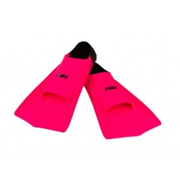 Maru Training Fins Neon Pink/Black