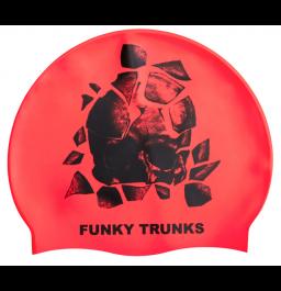 Funky Trunks Bone Head Silicone Swim Cap