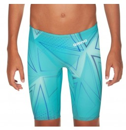 Arena Junior Powerskin R-EVO One Jammers 2019 Limited Edition- Blue Glass